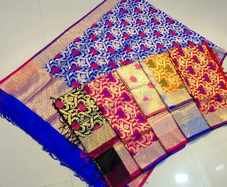 Banaras Semi Silk Dupatta