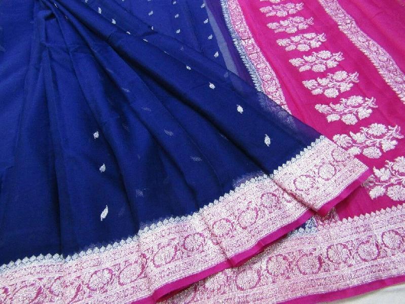 Banarasi Chiffon Silk Saree 02