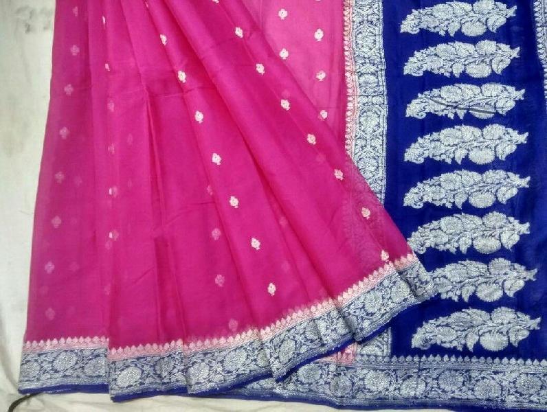 Banarasi Chiffon Silk Saree 03