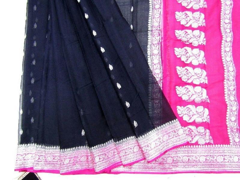 Banarasi Chiffon Silk Saree 04