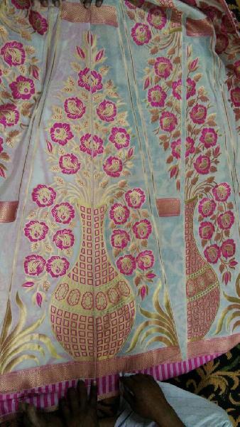 Banarasi Lahenga Kali Fabric 04