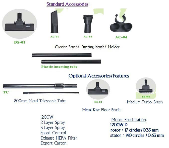 Accessories and Optional Features