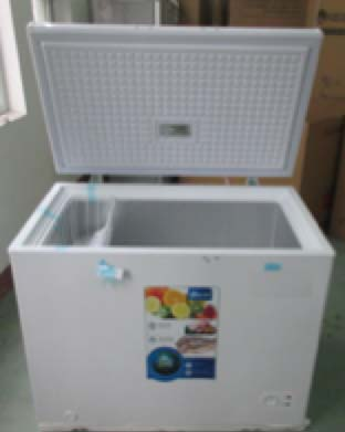 CF255101 Chest Freezer