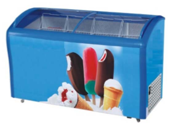 CSF38801 Showcase Freezer