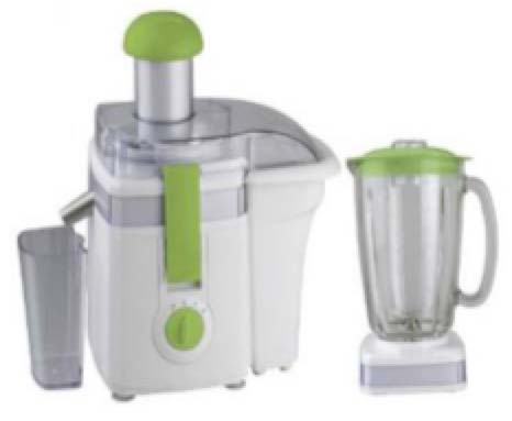 SJ26KW 2 in 1 Juicer Extractor & Blender Set