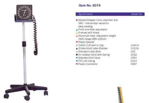 Standing Sphygmomanometer