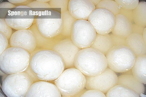 Sponge Rasgulla