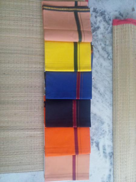 Cotton Multicolor Dhoti