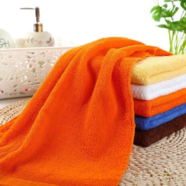 Pure Cotton Bath Towels