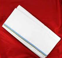 Pure White Cotton Lungi