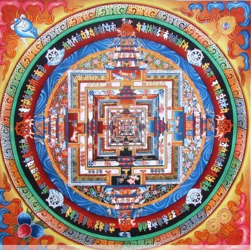Tibetan Thangka Painting 02