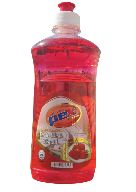 DISHWASH PEX STRAWBERRY 500ML