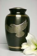Brass Ashes Urn