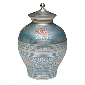 Butterfly Blue Cremation Urns