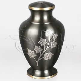 Eaton Brass Metal Cremation Urn