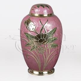 LeFleur Brass Metal Cremation Urn