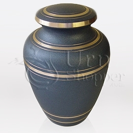 Wedgewood Brass Metal Cremation Urn