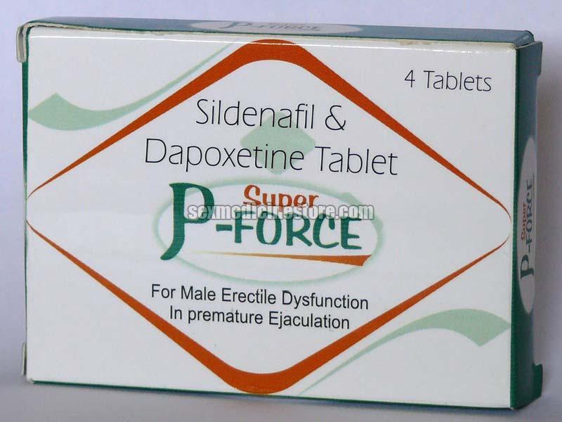 Super P Force Sildenafil Tablet