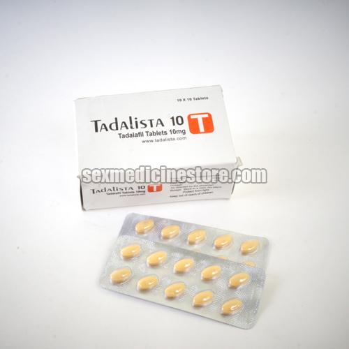 Tadalista 10 mg Tablets