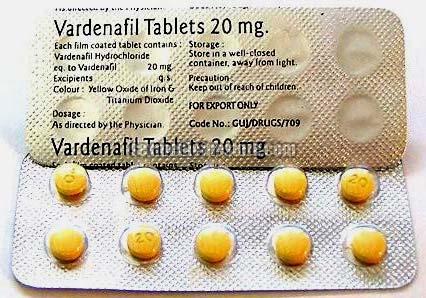Vardenafil Tablet 20 Mg