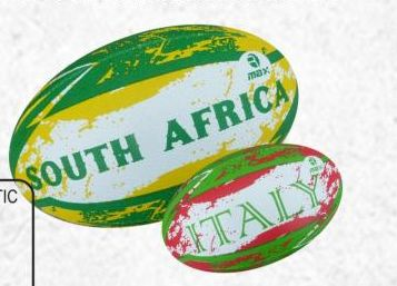Flags Rugby Ball 03