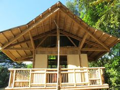 Bamboo Arch Roof