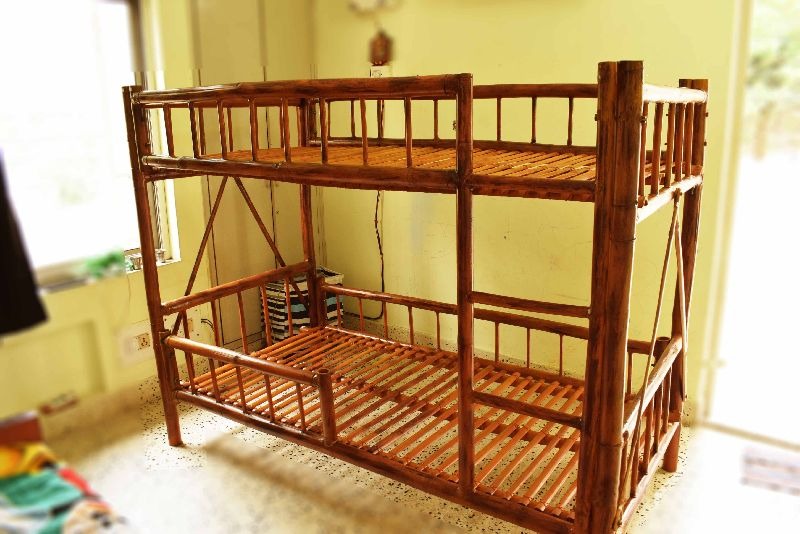Bamboo Bunk Bed 01