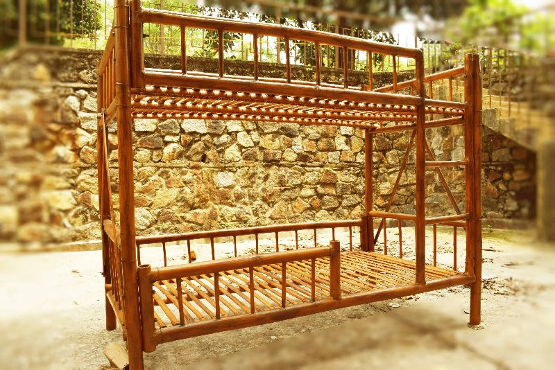 Bamboo Bunk Bed 02