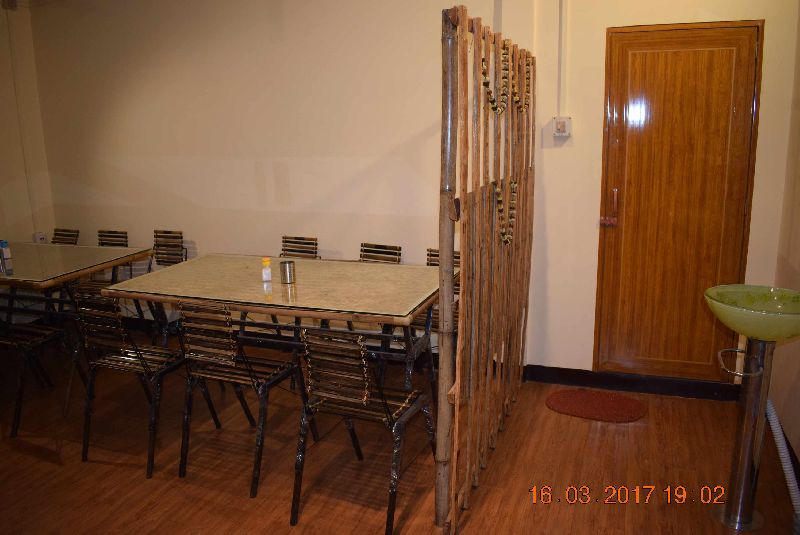 Bamboo Dining Table Set 03