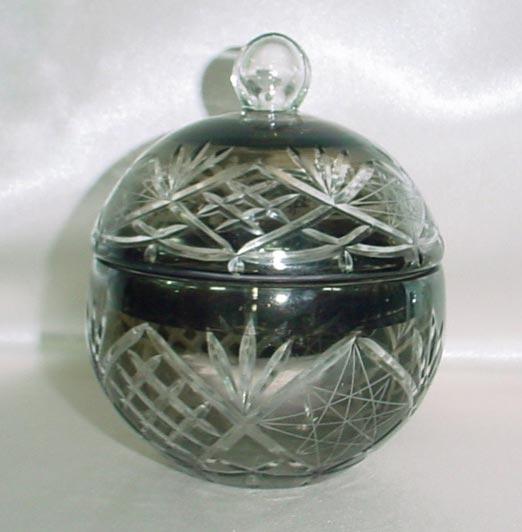 Color Glass Jar & Canister