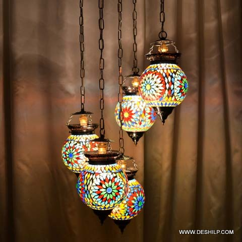 Glass Hanging And Pendants Lights