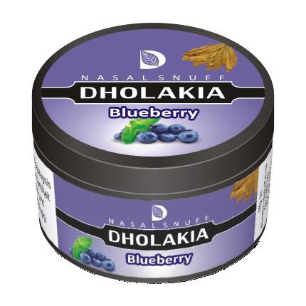 25 gm Dholakia Blueberry Non Herbal Snuff