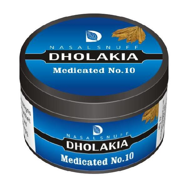 25 gm Dholakia Medicated No.10 Non Herbal Snuff