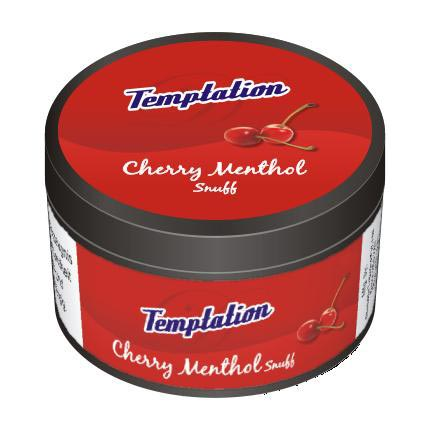 25 gm Temptation Cherry Menthol Non Herbal Snuff