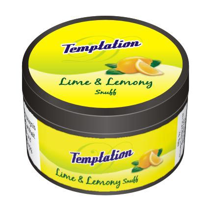 25 gm Temptation Lime & Lemony Non Herbal Snuff