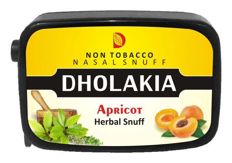 9 gm Dholakia Apricot Herbal Snuff