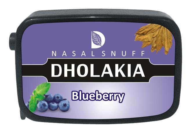 9 gm Dholakia Blueberry Non Herbal Snuff