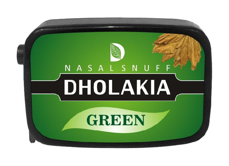 9 gm Dholakia Green Non Herbal Snuff