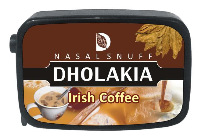 9 gm Dholakia Irish Coffee Non Herbal Snuff