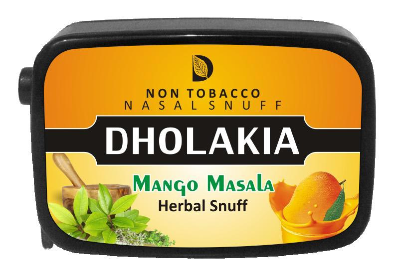 9 gm Dholakia Mango Masala Herbal Snuff