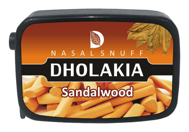 9 gm Dholakia Sandalwood Non Herbal Snuff