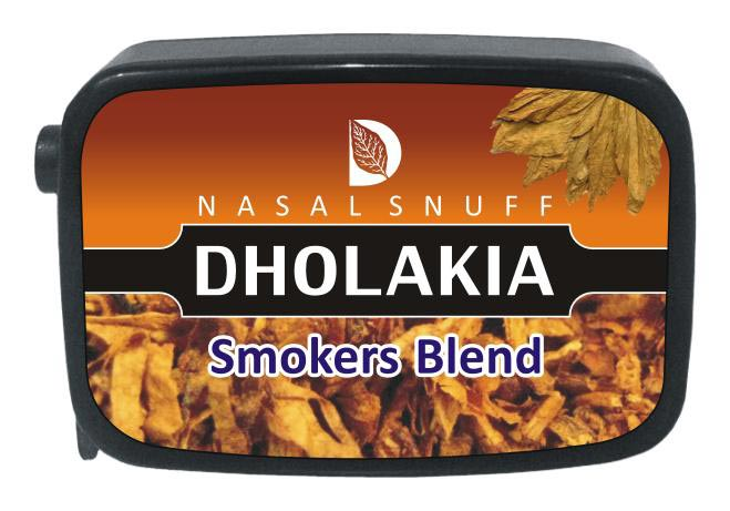 9 gm Dholakia Smokers Blend Non Herbal Snuff