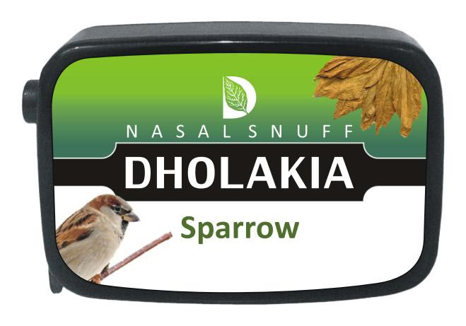 9 gm Dholakia Sparrow Non Herbal Snuff