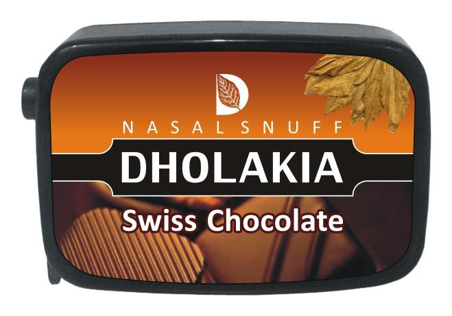9 gm Dholakia Swiss Chocolate Non Herbal Snuff