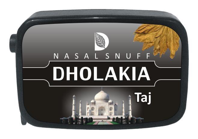 9 gm Dholakia Taj Non Herbal Snuff