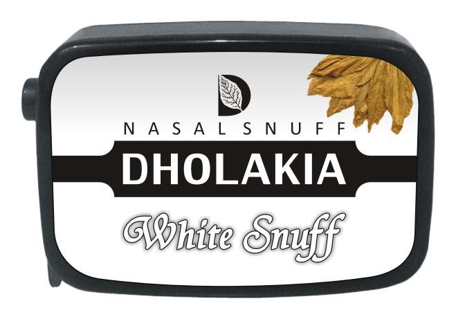 9 gm Dholakia White Non Herbal Snuff