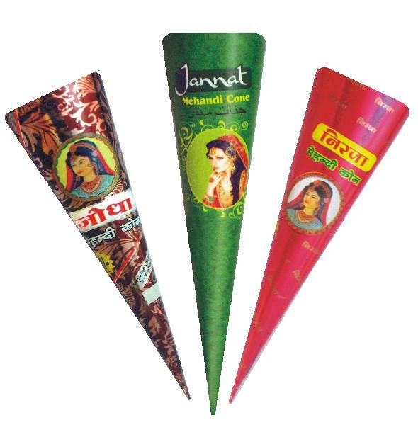 Herbal Henna Paste Cone