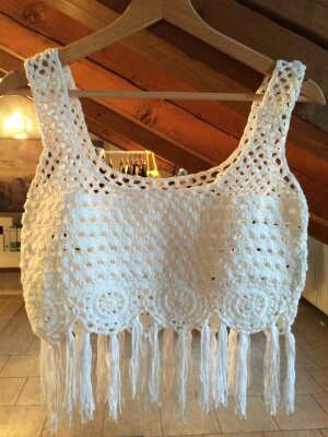 Crochet Bra Top