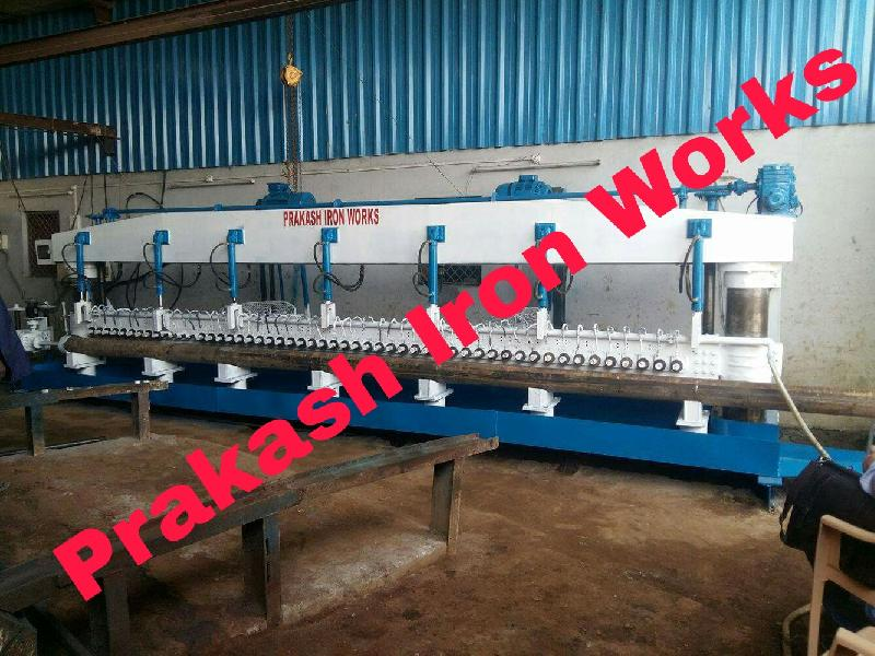 Fully Automatic 52 Spindle Pipe Slotting Machine