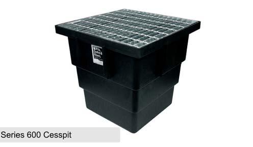Cast Iron Cesspit